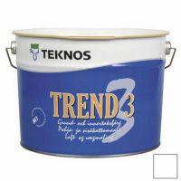 Краска Teknos Trend 3 9 л